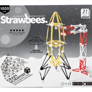 Strawbees STEM Crazy Scientist Kit 21 Projects
